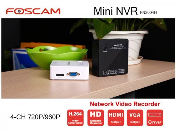 NVR 4 CANALE FOSCAM FN3004H 4