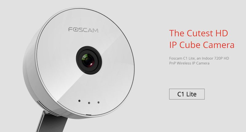 CAMERA WIRELESS FOSCAM C1 LITE 2