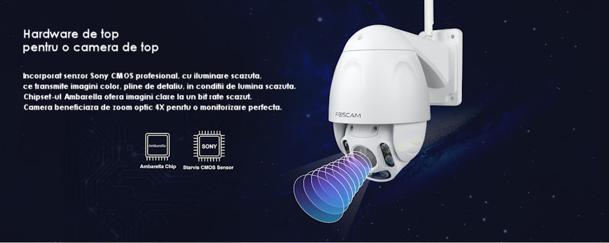 CAMERA WIRELESS FOSCAM FI9928P SPEED DOME 3