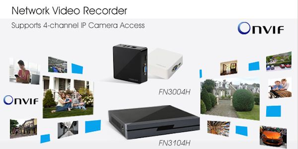NVR 4 CANALE FOSCAM FN3004H 3