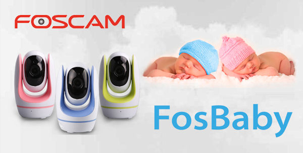 CAMERA WIRELESS FOSCAM FOSBABY 2