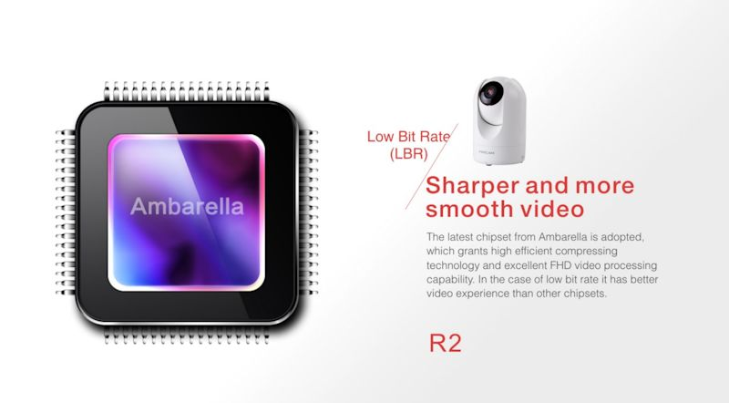 CAMERA SUPRAVEGHERE WIRELESS FOSCAM R2 5